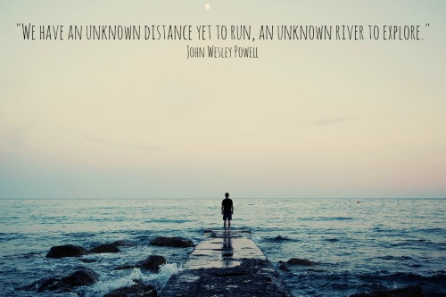 quote about the unknown
