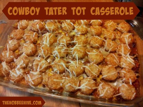 Cowboy Tater Tot Casserole