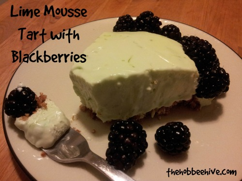 lime-mousse-tart-with-blackberries-recipe