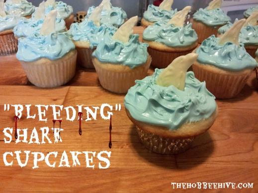 bleeding-shark-cupcakes