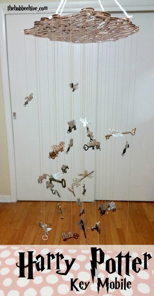 Harry Potter Flying Keys Mobile The Hob Bee Hive