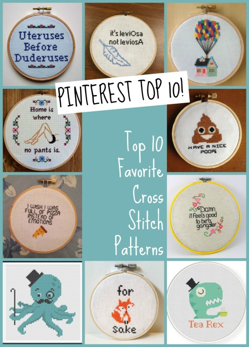 top-10-cross-stitch-patterns
