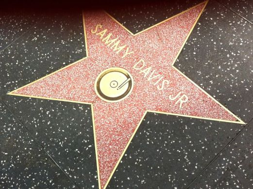Image result for sammy davis jr., hollywood walk of fame