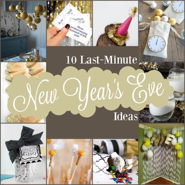10 last minute new year s eve ideas the hob bee hive - Last minute new year s eve party ideas ...
