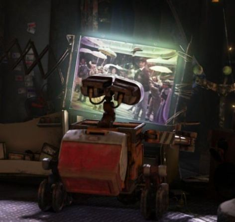 Image result for wall-e, hello dolly