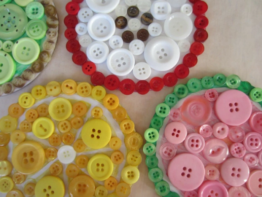 button-coasters