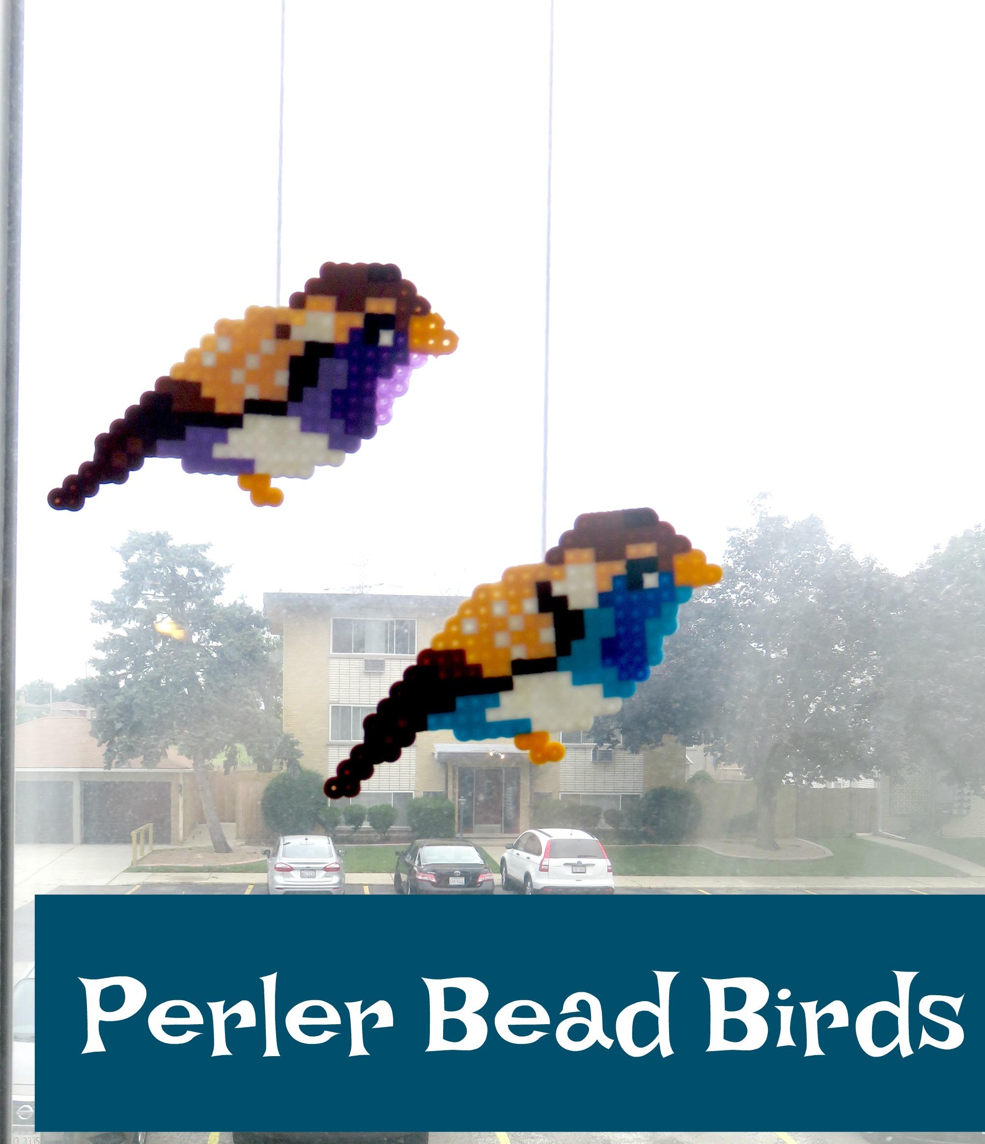 Perler Bead Birds | The Hob-bee Hive