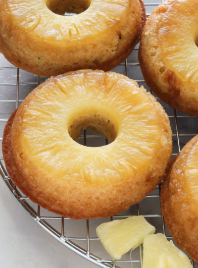 pineapple-upside-down-doughnuts