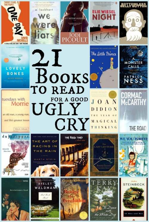 books to read for a good ugly cry
