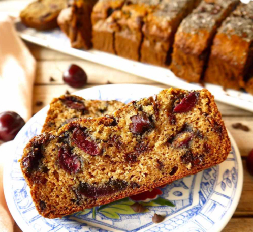 cherry-banana-bread
