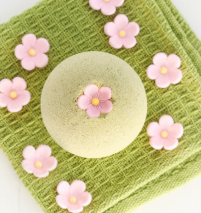 green-tea-bath-bomb