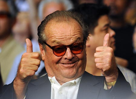 Image result for jack nicholson thumbs up
