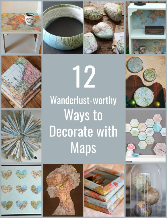 ways-to-decorate-with-maps