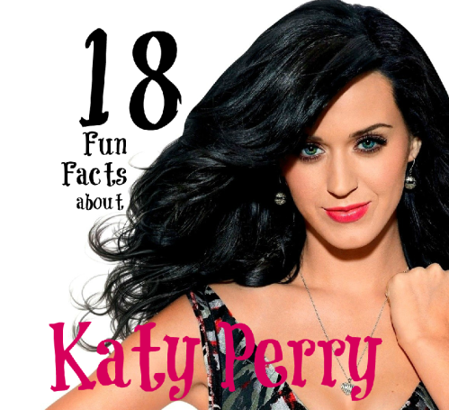 katy perry fun facts