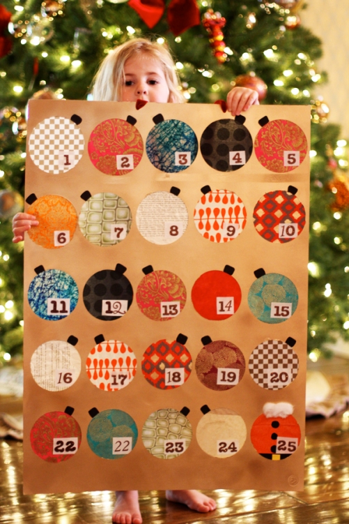 Unusual Calendar Ideas : Unique diy advent calendars the hob bee hive
