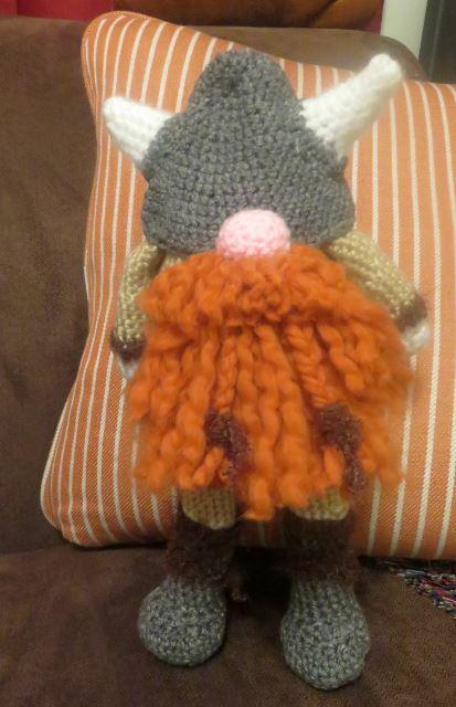 Winter Viking | Crochet toys, Crochet clothes patterns, Amigurumi ... | 640x413