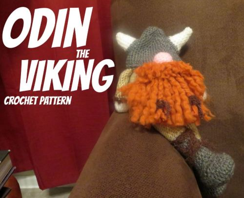 Odin The Viking Crochet Pattern The Hob Bee Hive