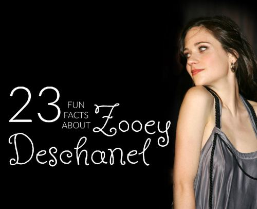 fun-facts-about-zooey-deschanel