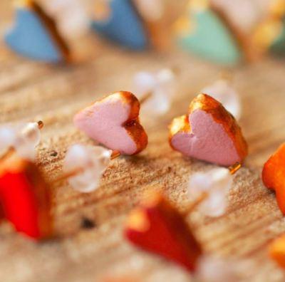 heart earrrings