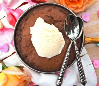 skillet brownie
