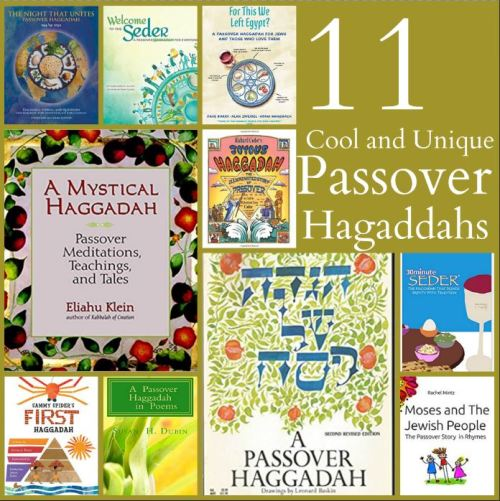 passover-hagaddahs