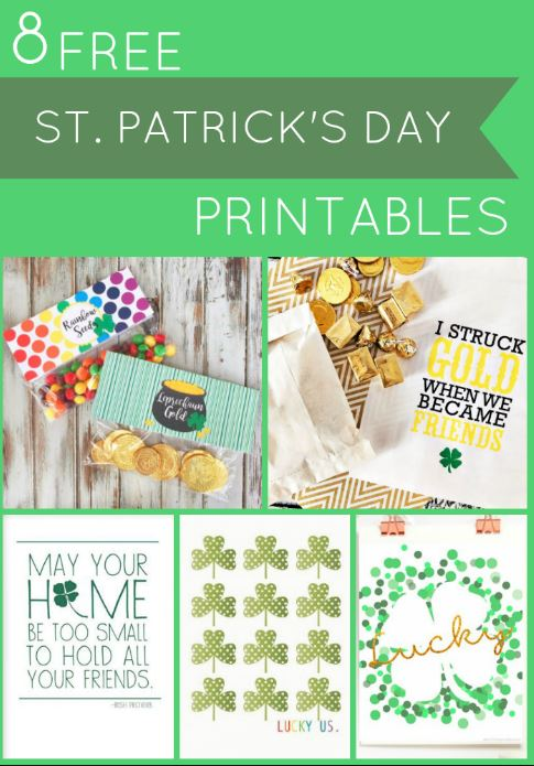 st patricks day printables