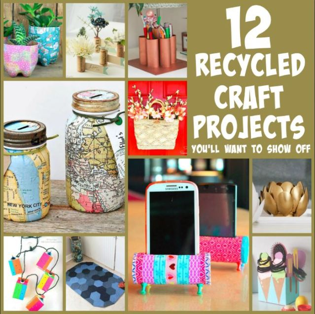recycle craft ideas 12 recycled craft projects you ll want to show the 2815