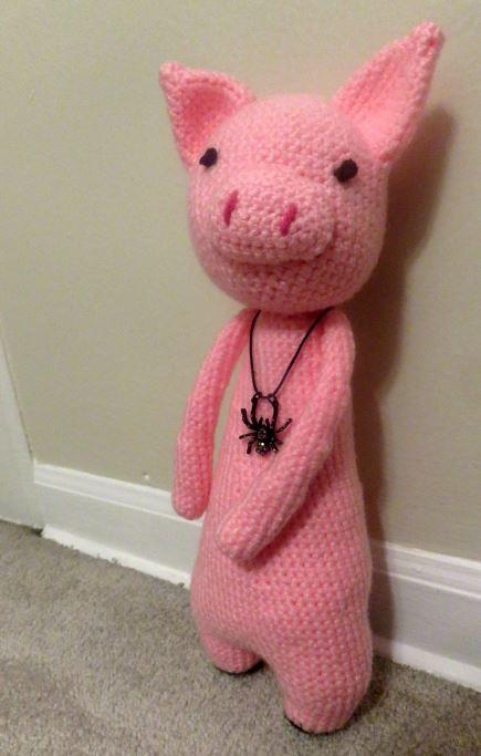 crochet pig 2