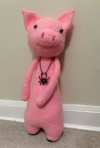 Crochet Pig Pattern - Lots Of Cute Ideas | The WHOot | 511x346