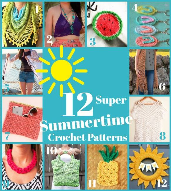 summertime-crochet-patterns