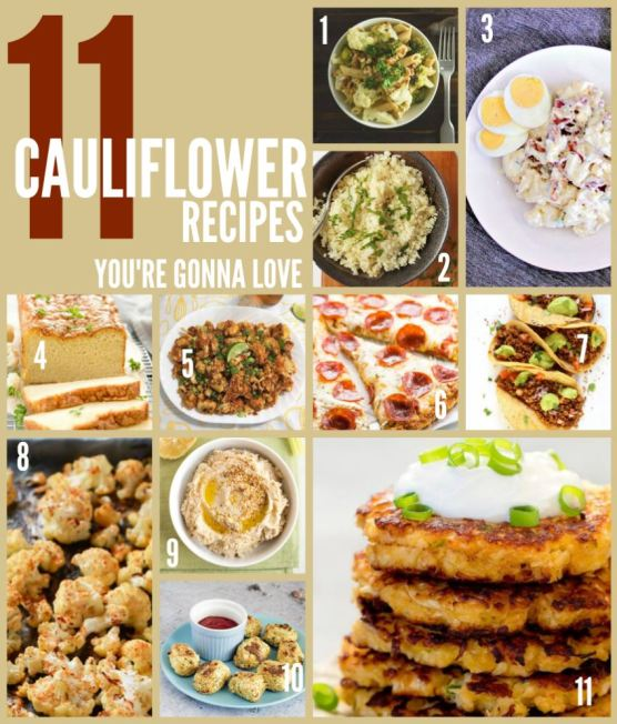 CAULIFLOWER-RECIPES