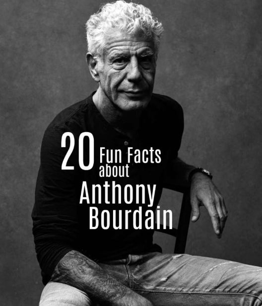 fun-facts-about-anthony-bourdain
