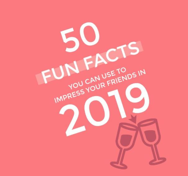 FUN FACTS 2019